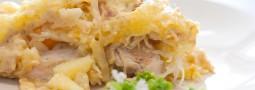 Sauerkrautgratin mit Geflügel