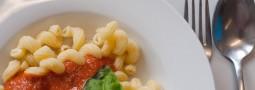 Vegetarische Woche — Nudeln mit Diätsoße