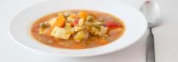 Minestrone mit Raviolini – Der Vegetarier ist wieder da