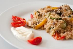 Couscous mit Huhn und Gemüse