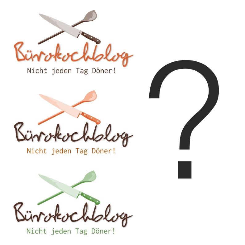 Vorschläge für das Logo des Bürokochblogs