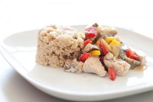 Couscous mit Geflügel und Gemüse